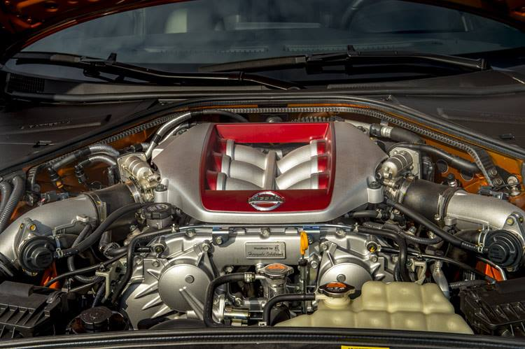 R35 2007 Engine