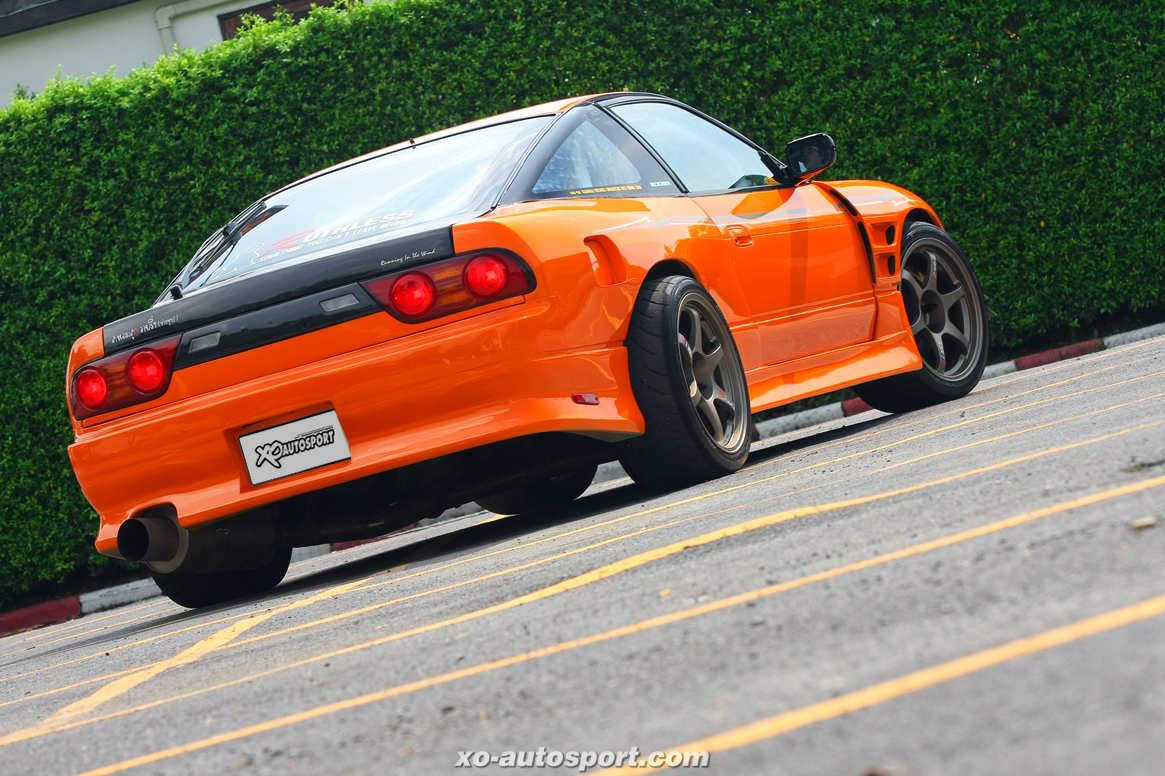 200SX 2JZ RUTHLESS DRAG STYLE 05