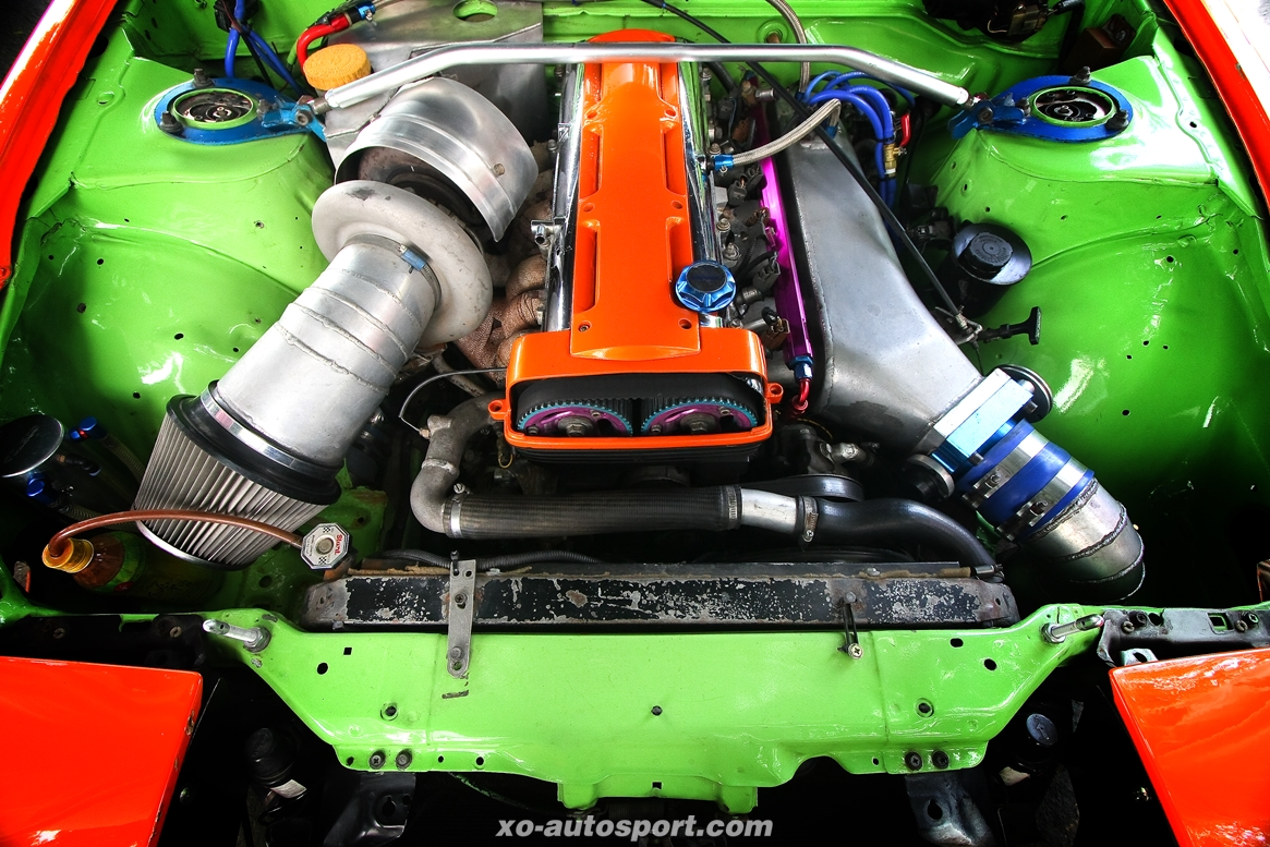 200SX 2JZ RUTHLESS DRAG STYLE 08