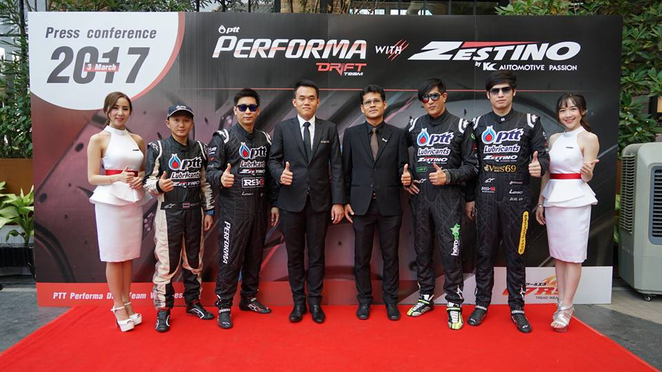PTT PERFORMA DRIFT TEAM WITH ZESTINO