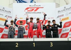 GT World Challenge Asia TP12 Singha motorsport