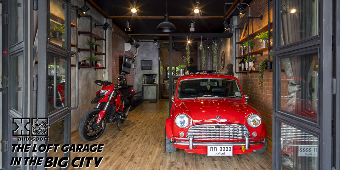 The Loft Garage in the Big City