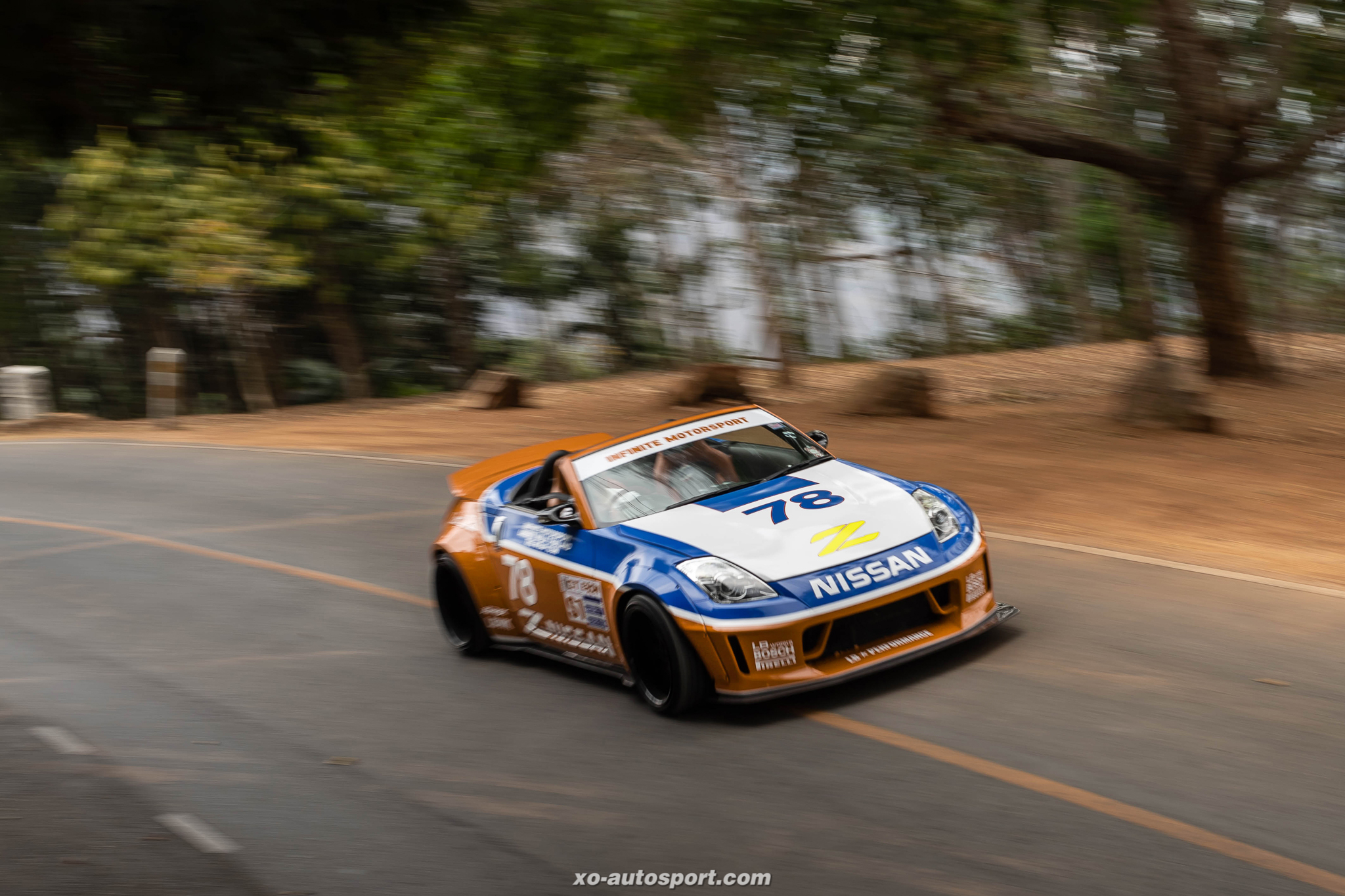 LB Nation Z33 350Z Clayton Cunningham Racing Livery 11