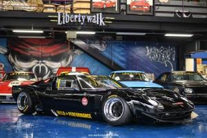 LB WORKS LAMBORGHINI MIURA Replica from FORD GT40 02