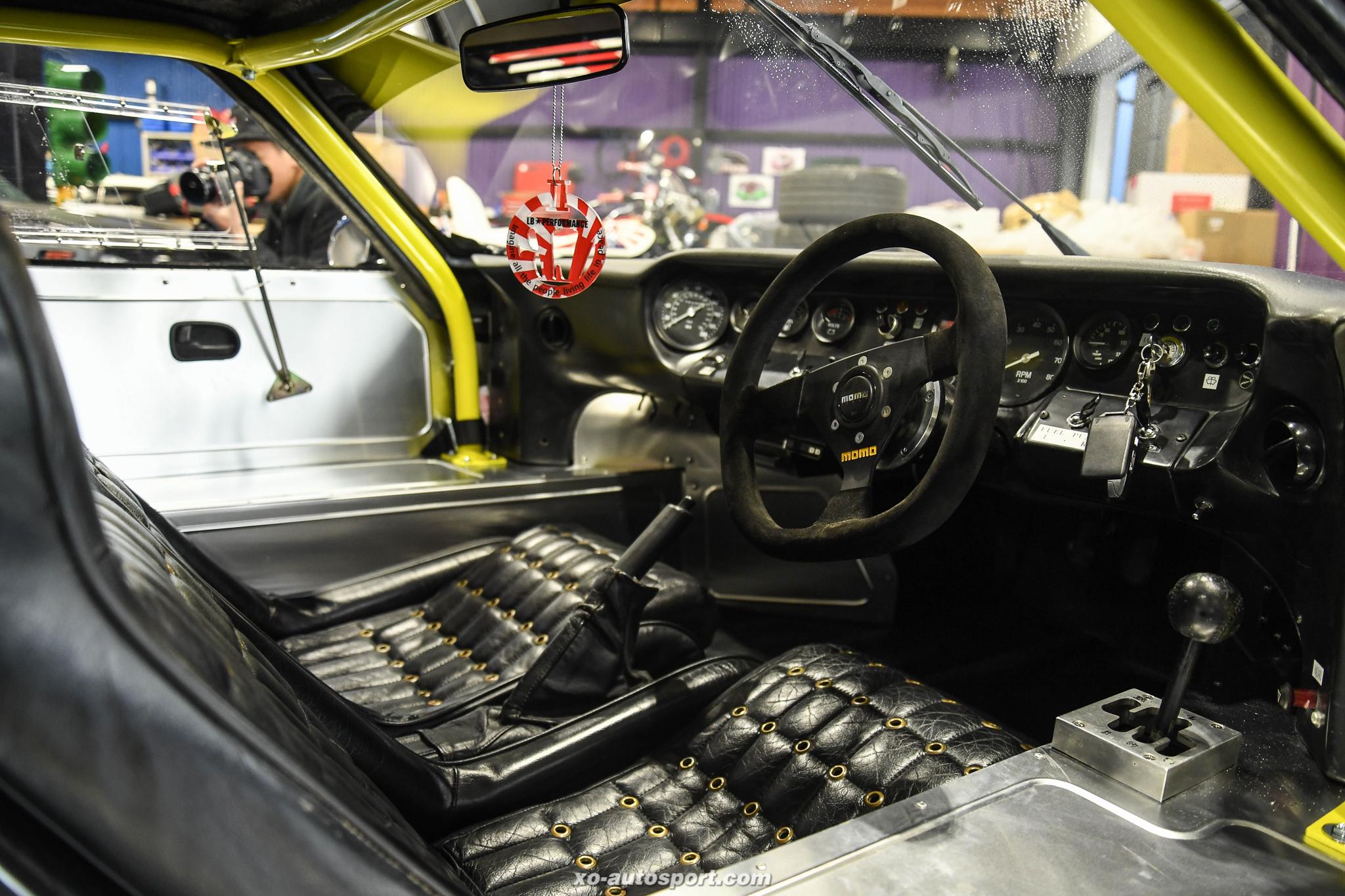 LB WORKS LAMBORGHINI MIURA Replica from FORD GT40 16