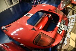 LB WORKS LAMBORGHINI MIURA Replica from FORD GT40 22