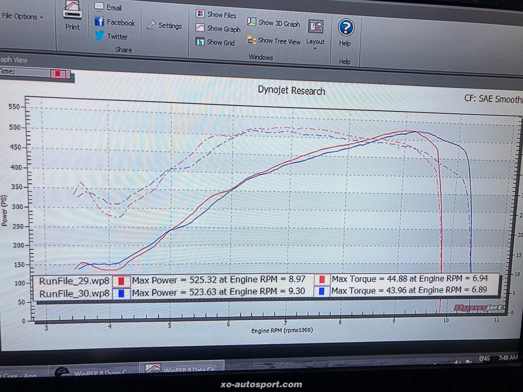 K24 over 500 PS By 1 Ban Suan Drag only Dyno Civic