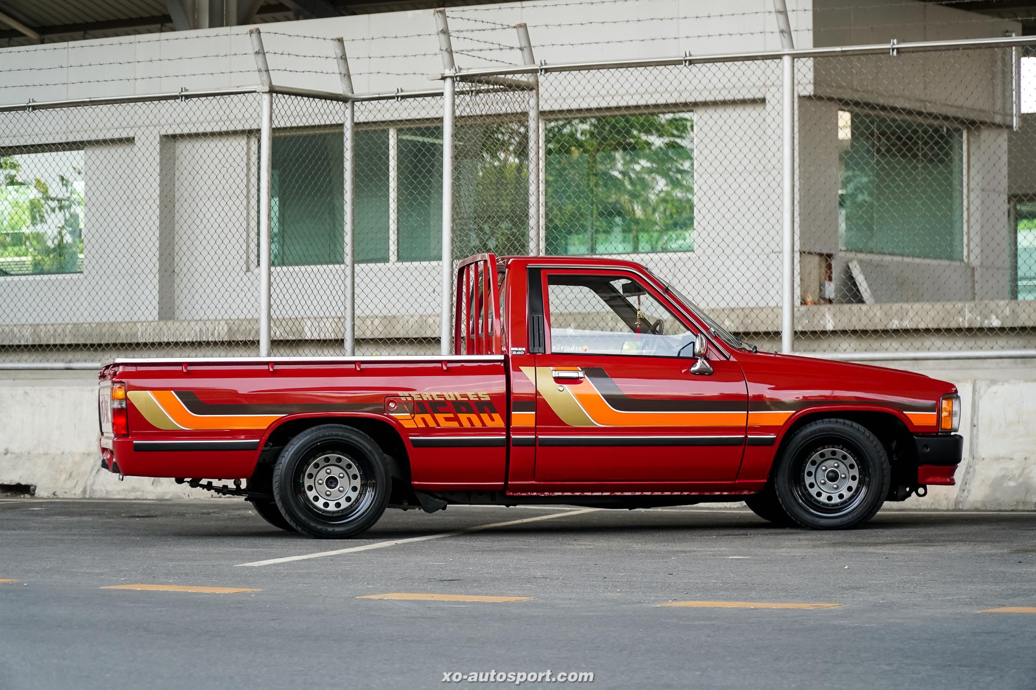 Short base truck 10