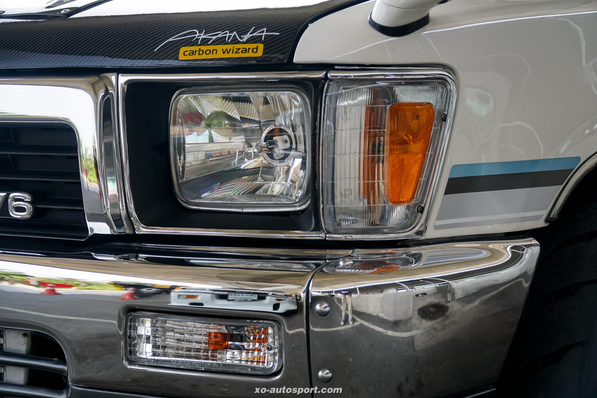 Short base truck 23