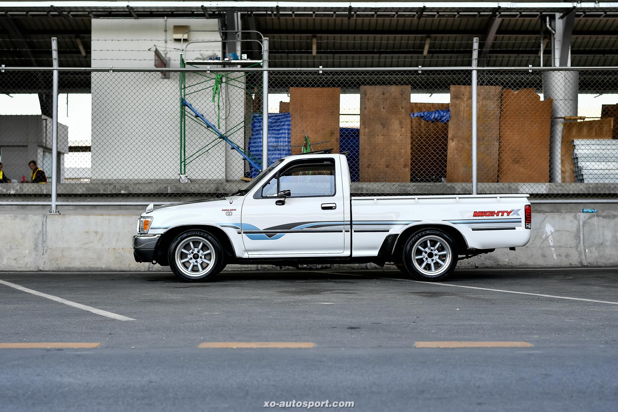 Short base truck 24