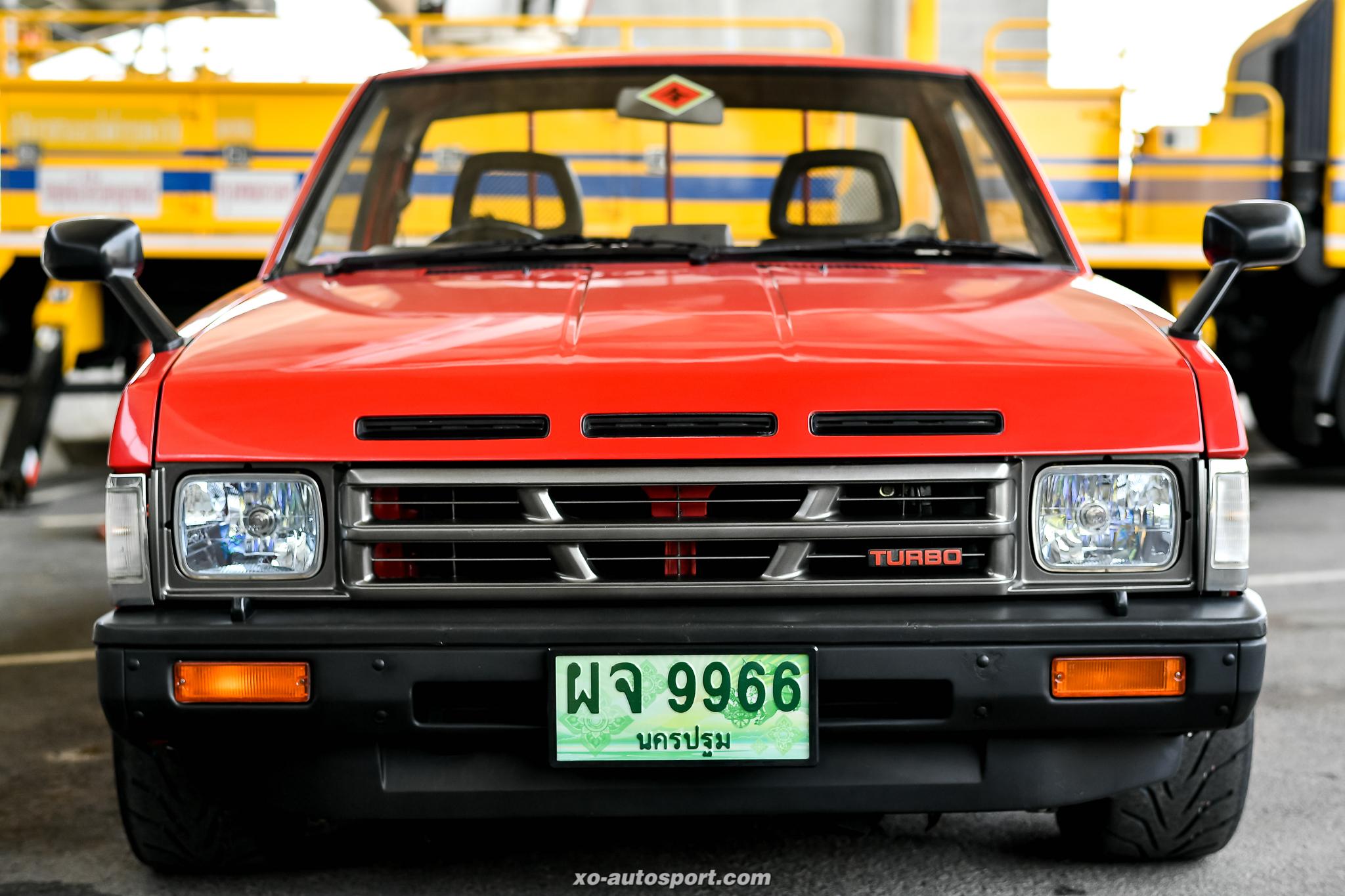 Short base truck 36